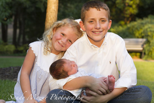 Gracie, Andrew and Baby Will
