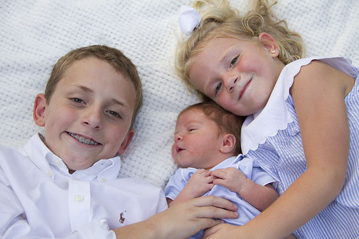 Andrew, Gracie and Baby Will